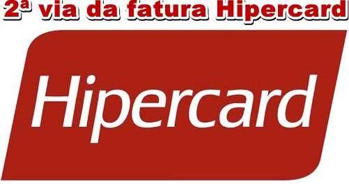 2ª Via FATURA BOLETO E CARTÃO HIPERCARD ACESSO VIA CELULAR