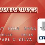 2ª Via FATURA BOLETO E CARTÃO CASAS DAS ALIANÇAS