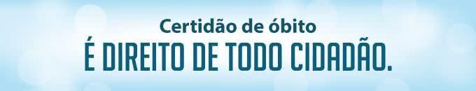 2ª Via DE CERTIDÃO DE ÓBITO NACIONAL COMO SOLICITAR ONLINE
