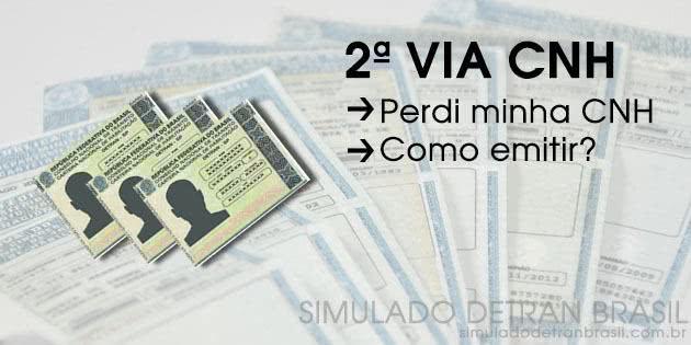 2ª Via CNH ESPÍRITO SANTO ES COMO SOLICITAR