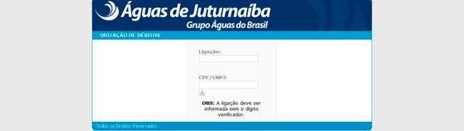 2ª Via Conta ÁGUAS DE JUTURNAÍBA3