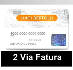 2ª Via Fatura CARTÃO LUIGI BERTOLLI6