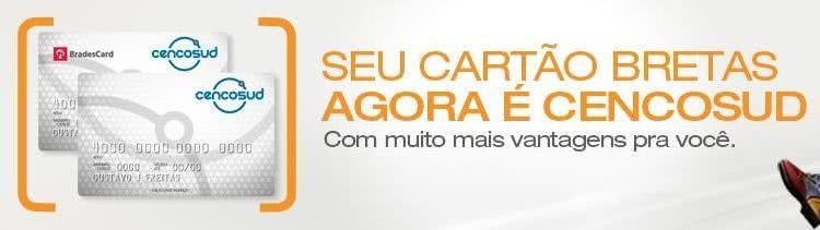 2ª Via FATURA BOLETO E CARTÃO BRETAS / CENCOSUND ACESSO ONLINE
