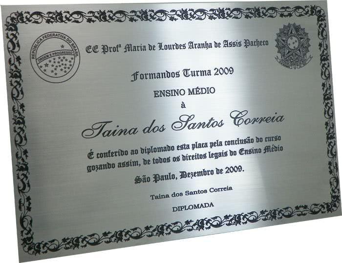 Diploma do Ensino Médio