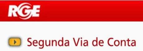 2ª Via FATURA BOLETO E CONTA RGE CONTA RGE SERVIÇOS ONLINE