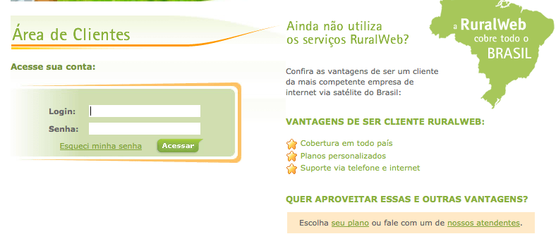 solicitar segunda via ruralweb