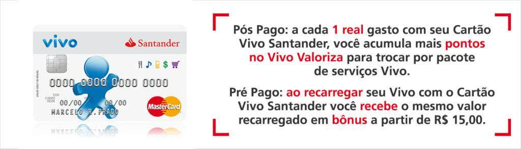 2ª Via FATURA BOLETO E CARTÃO VIVO SANTANDER ACESSO ONLINE