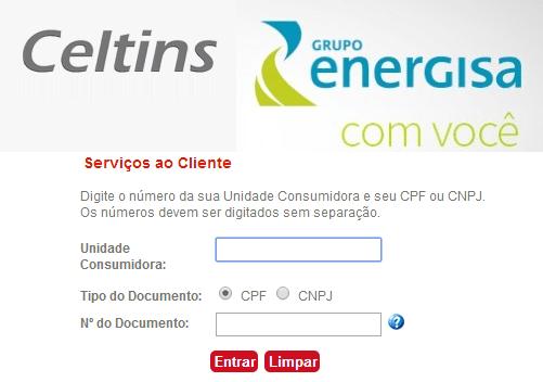 2ª Via CONTAS E FATURA CELTINS ENERGISA DICAS E CAMINHOS DE COMO TER ACESSO AOS SERVIÇOS