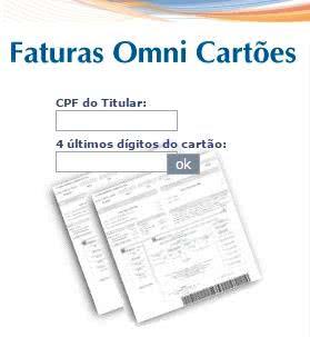 2ª Via FATURA BOLETO E CARTÃO OMMI COMO ACESSAR ONLINE