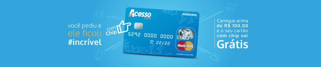 cartão acesso