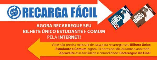 2ª Via CARTÃO BILHETE ÚNICO ACESSO VIA CENTRAL