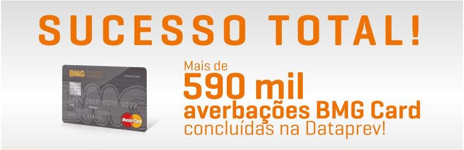 2ª Via FATURA CARTÃO BMG CALCARD BENEFÍCIOS EM POSSUIR