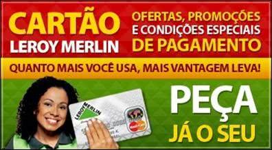 2ª Via FATURA BOLETO E CARTÃO LEROY MERLIN ACESSO VIA TELEFONE