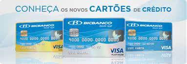 2ª Via FATURA BOLETO E CARTÃO BICBANCO VANTAGENS EM CONTRATAR