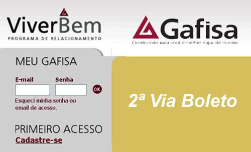2ª Via FATURA E BOLETO GAFISA ACESSO ONLINE E APP